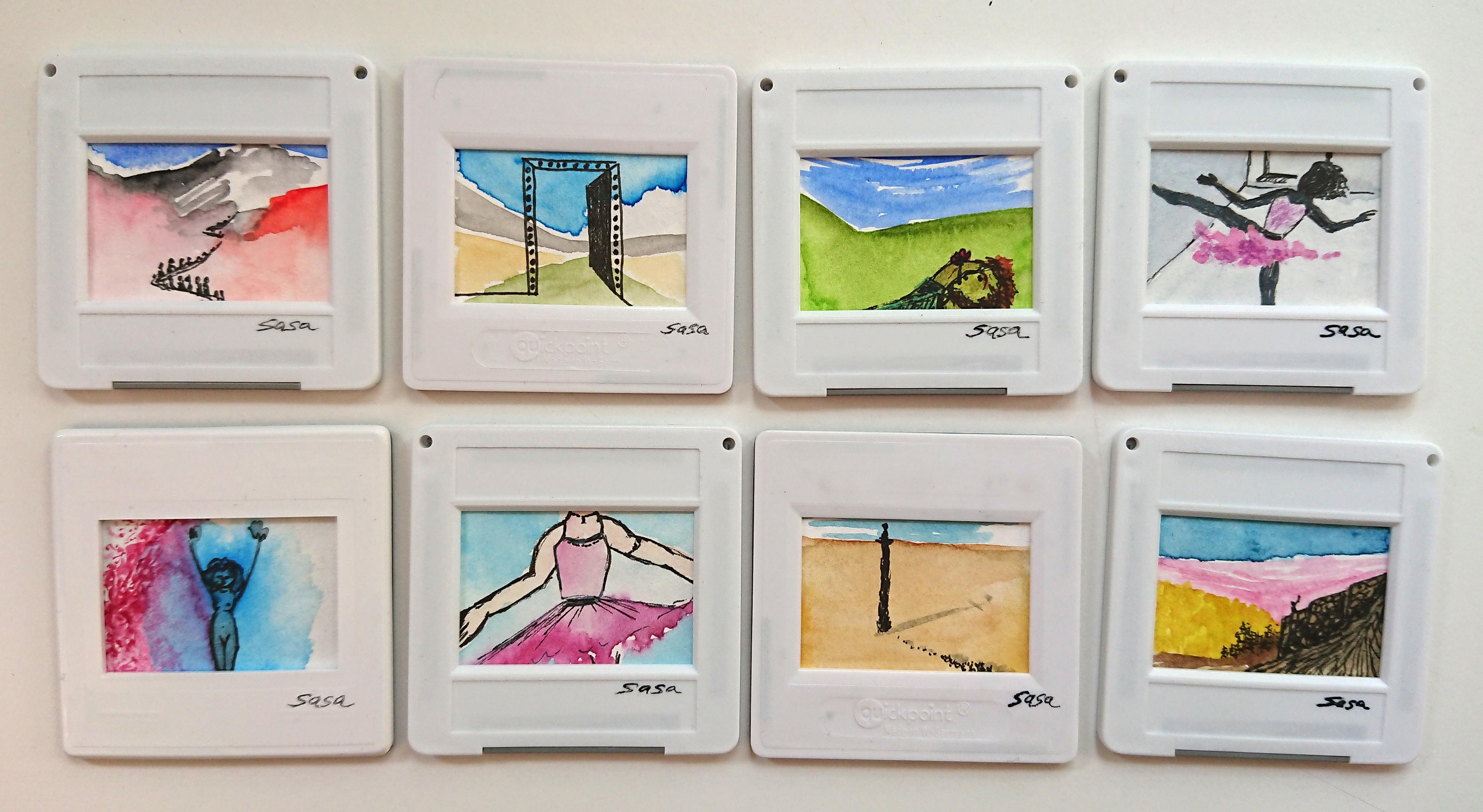 Miniaturen von Sasa Nehus für Buenos Dias